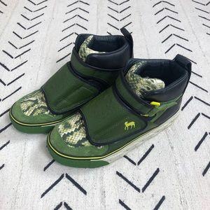 NIB RARE L.A.M.B. Hi top Velcro wrap sneaker